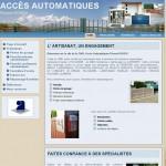 Création du site internet de Accès Automatiques, Brest