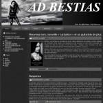 Création du site internet de AD BESTIAS