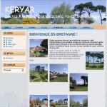Création du site internet Keryar, Locquirec