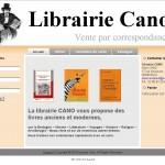 Création du site internet de la Librairie CANO, Brest