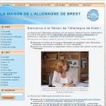 Création du site internet de la Maison de l'Allemagne de Brest